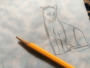 tracing paper jaguar